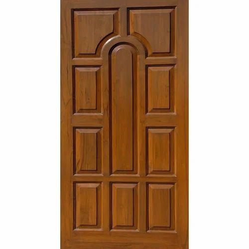 Exterior Teak Door  sc 1 st  IndiaMART & Exterior Teak Door Teak Door - M. S. Doors u0026 Woodtech Hodal | ID ...