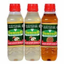 Vibhavari Oil Great Taste Coconut Flaxseed 1 Litre Oils Set