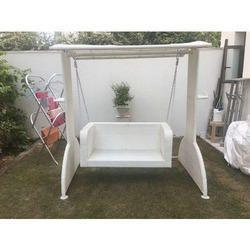 Wicker Two Seater Garden Swing
