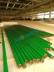 Mild Steel MS Pipeline For Cooling Tower & Industrial Gases