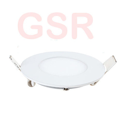 3w Super Slim Round LED Panel
