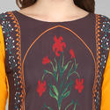 Floral Printed Casual Kurti
