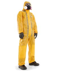 Honeywell Yellow Chemical Suit