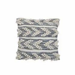 Wool Woolen Cushion Cover, Size: 18x18 Inch