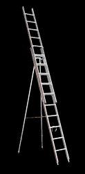 Aluminium Wall Reclining Ladder