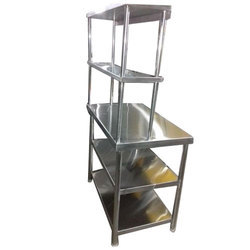 Stainless Steel Display Rack