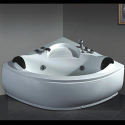 Bathware India Corner Acrylic Jacuzzi Bathtub