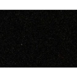Polished Black Granite Stone, For Flooring, Thickness: 0.75 Inch