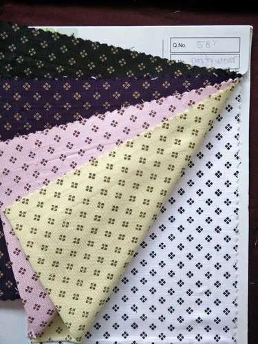 R C Printed Poketing Fabric