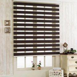Wooden Window Zebra Blind, For Home & Office