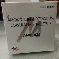 Amoxycillin and Potassium Clavulanate IP Tablet