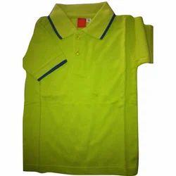 Green & Black Summer School Uniform T-Shirt, Size: Medium