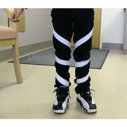White Polyester Hip Knee Ankle Foot Orthosis, For Daily, Size: S-l