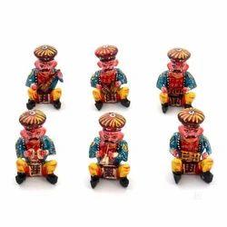 Wooden Bawala Musician