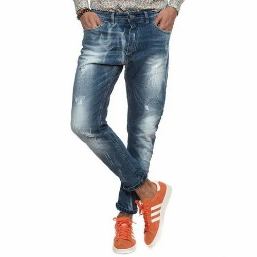 a5c1cea89 Regular Fit Mens Ripped Denim Jeans, Rs 550 /piece, Rock Fashions ...
