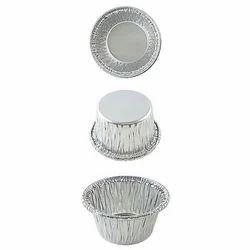 Silver Choko Lawa Foil Container