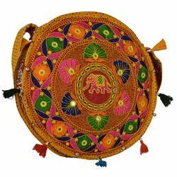 zaributi Multicolor Yellow Color Ethnic Sling Bags