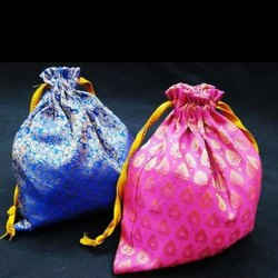Anoo's Wedding Silk Potli Bags
