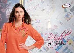 Kurti Vol-2 Rayon Khadi Fancy Designer Traditional  Kurtis