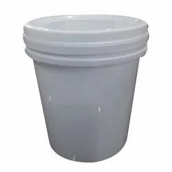 1 L Plastic Bucket with Lid