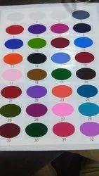 Polyster Plain Polyester Fabrics for Uniform, GSM: 50-100 GSM
