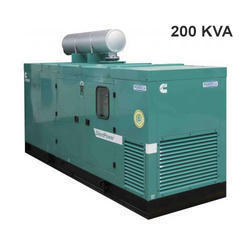 200 KVA Silent Generator