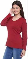 Stylish Plain Cotton T Shirts