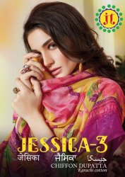 JT Jessica Vol-3 Karachi Cotton Printed Cotton Dress Material Catalog Collection at Textile Mall