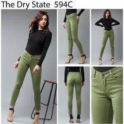 Women Color Denim Jeans