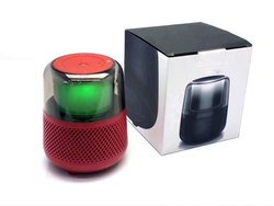FZ04 Allure Wireless Portable Bluetooth Speaker Strong Bass Sound Support AUX Input and TF Card-Red