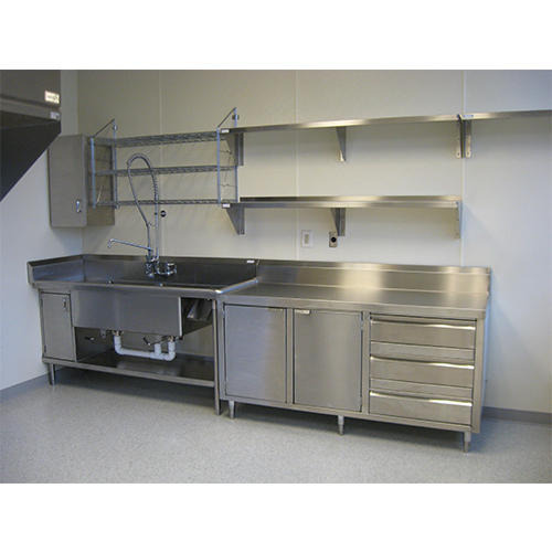 Stainless Steel Kitchen Cabinets For Commercial Rs 8500 Piece Id 18000260712