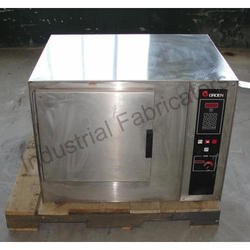 Mild Steel Industrial Electric Oven, Size: Large