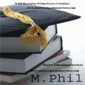IGNOU M.Phil.Geography Dissertation Report Writing Services