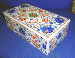Marble Inlaid Jewellery Box