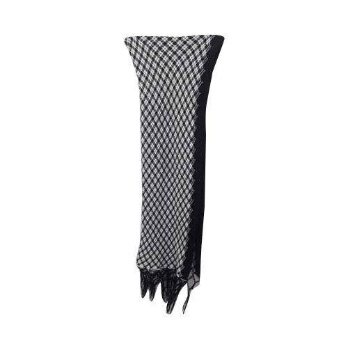 2f5ad8c6e Black & White Ladies Black And White Woolen Shawl, Rs 85 /piece | ID ...
