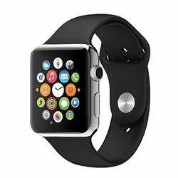兼容所有3G和4G Android/iOS智能手机的蓝牙A1智能手表(黑色)