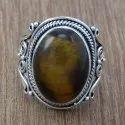 Lapis Lazuli Gemstone 925 Sterling Silver Ring Jewelry