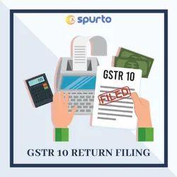 GSTR 10 Return Filing