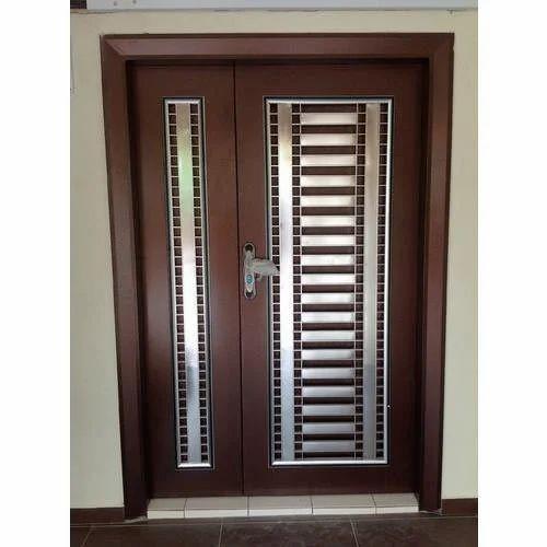 Wooden Security Door
