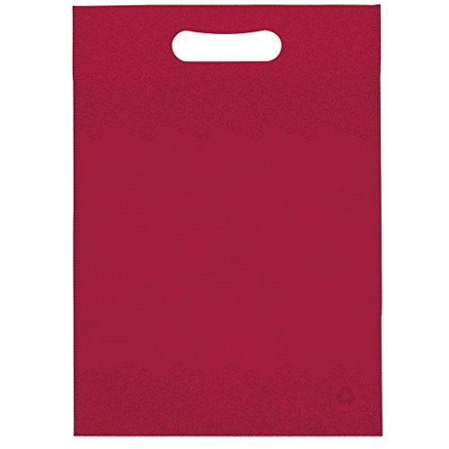 Plain Maroon Non Woven D Cut Bag