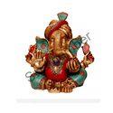 Brass Pagdi Ganesha