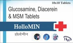 Glucosamine Diacerein And MSM Tablets