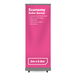 Paper and Polyester Roll Banner Printing Service, For Advertising and Promotion, Location: Pan India
