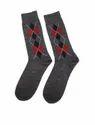 Winter Grey Men Woolen Socks