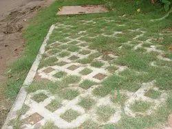 Garden Grass Concrete Paver