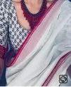 Latest Indian Linen Silk Saree