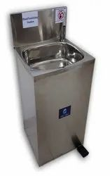 Hand Sanitizing Station - No Alcohol, No Soap (Zero operational cost)