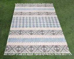 Cotton Handloom & Hand Block Rugs