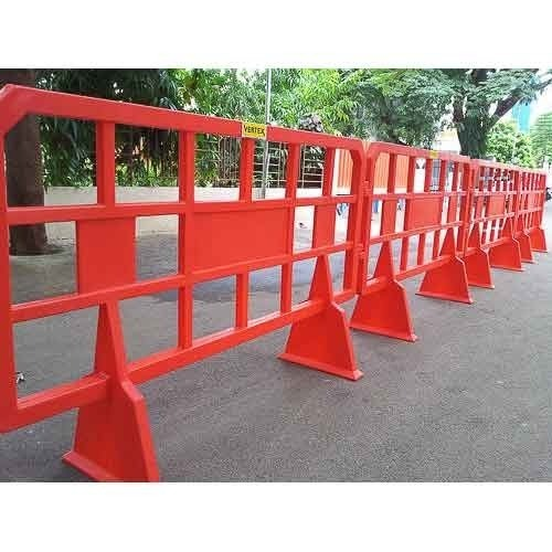 Iron Road Construction Barricades Rs 80 Square Feet Ss
