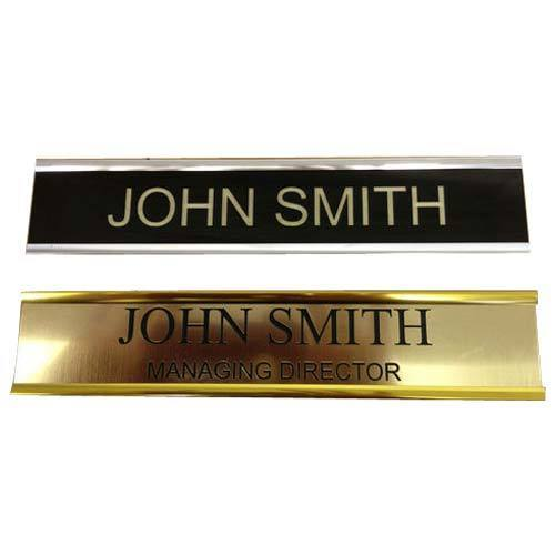 Custom Metal Engraving Name Plate At Rs